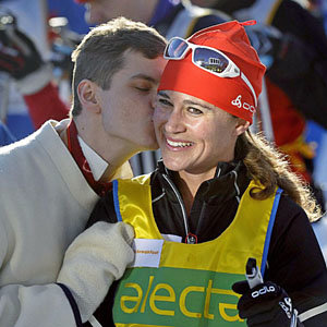 SEE PICS: Pippa Middleton completes cross-country ski race