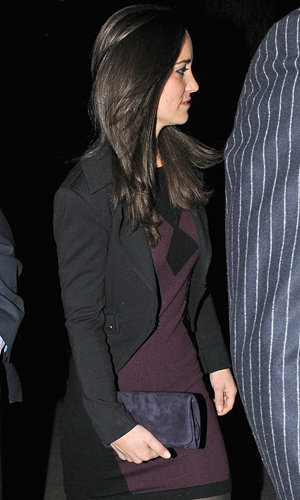 Pippa Middleton parties in London!