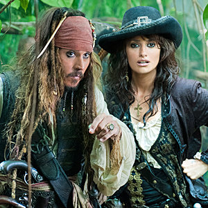 WATCH Johnny Depp in a behind-the-scenes special of Pirates of the Caribbean: On Stranger Tides