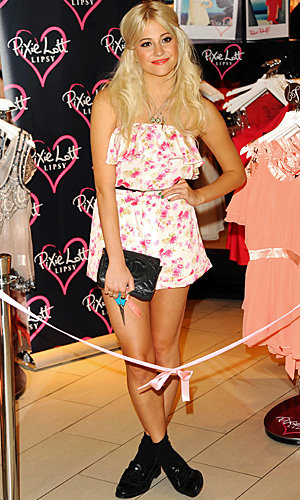 Pixie Lott launches new collection at Lipsy