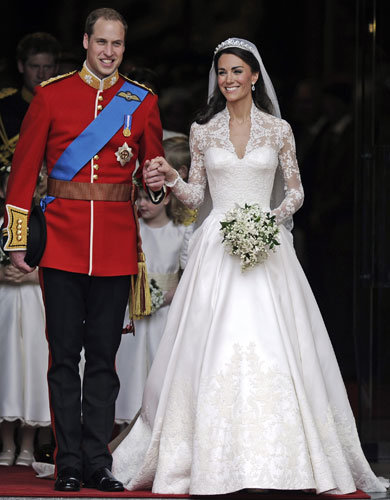 Kate Middleton and Prince William marry