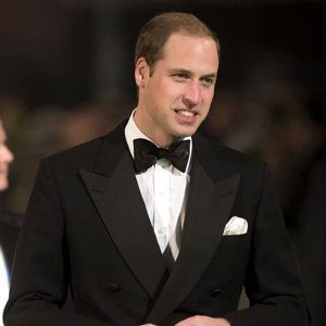 Prince William joins Cate Blanchett at The Hobbit premiere in London