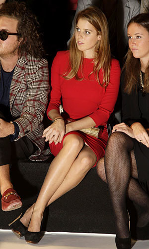 Princess Beatrice, Nicole Richie and Hailee Steinfeld go front row on the final day of PFW