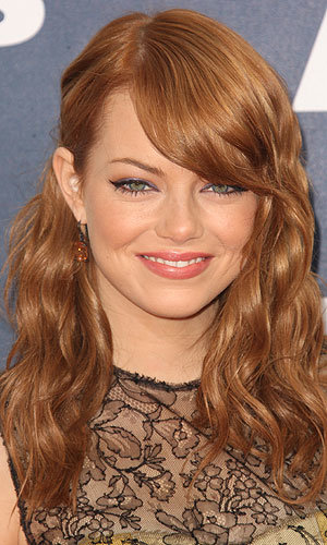 HAIR TREND: Red-hair rules! Drew Barrymore and Emma Stone tint their tresses...