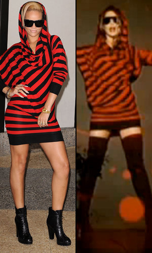 Style Snap: Rihanna and Cheryl Cole in Alexander McQueen