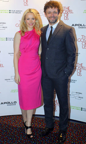 Rachel McAdams and Michael Sheen at The Gospel Of Us premiere!