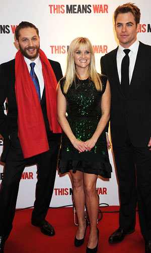 Reese Witherspoon hits London for This Means War premiere