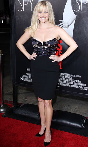 Reese Witherspoon, Tom Hardy and Chris Pine step out for the premiere of This Means War