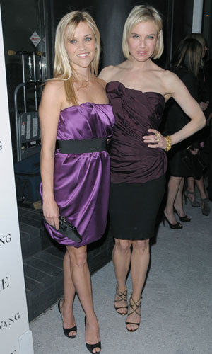 Reese Witherspoon and Renee Zellweger's glamorous night out