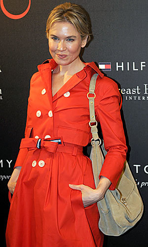 Renee Zellweger teams up with Tommy Hilfiger for a fashionable cause