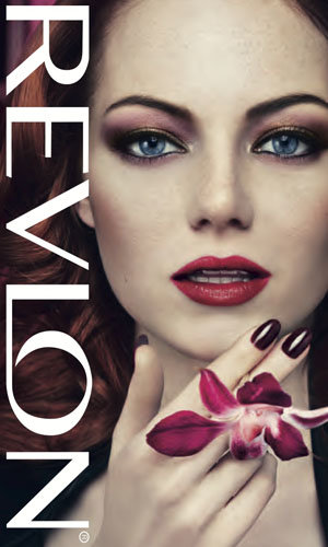 Emma Stone exclusive! Go behind her Revlon shoot