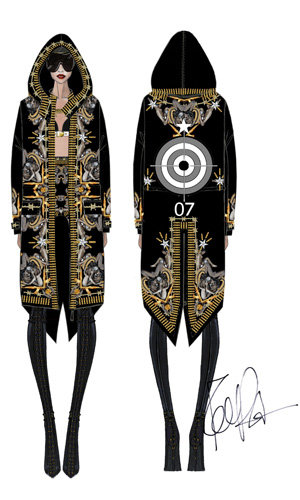 Rihanna's Givenchy Couture tour outfits unveiled