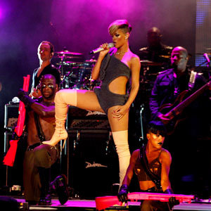SEE: Rihanna's raciest on-stage outfit yet