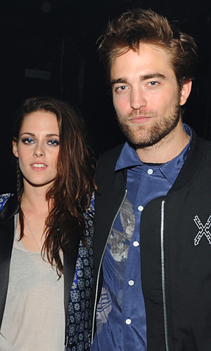 Kristen Stewart and Robert Pattinson welcome the new year on the Isle of Wight