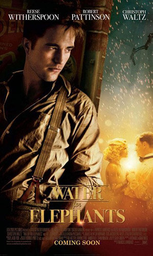NEW PICS: Robert Pattinson and Reese Witherspoon in Water For Elephants