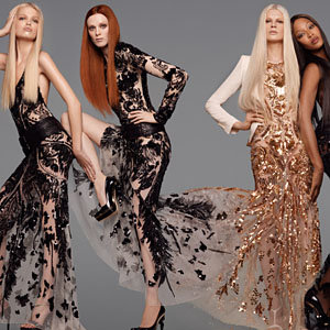 SEE Naomi Campbell and Karen Elson behind-the-scenes for Roberto Cavalli!
