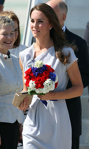 Kate Middleton wows LA in Alexander McQueen, Jenny Packham, DVF and Whistles