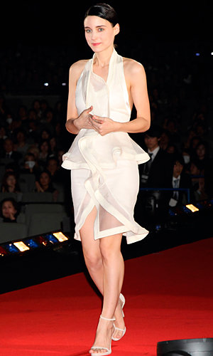 Rooney Mara dazzles in Givenchy at The Girl with the Dragon Tattoo's Tokyo premiere!