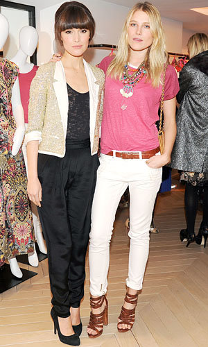 Rose Byrne and Dree Hemingway attend Sandro boutique launch in New York