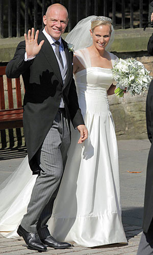 SEE PICS: Zara Phillips and Mike Tindall's Royal Wedding