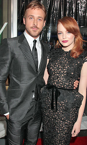 Emma Stone and Ryan Gosling sizzle at Crazy Stupid Love premiere