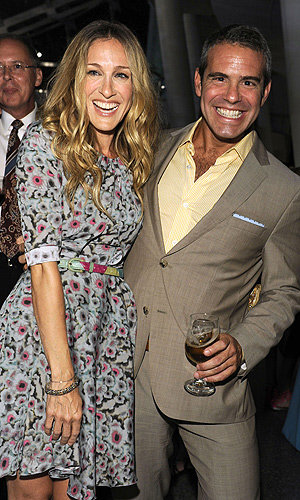 SEE Sarah Jessica Parker at the Work Of Art: The Next Great Artist party