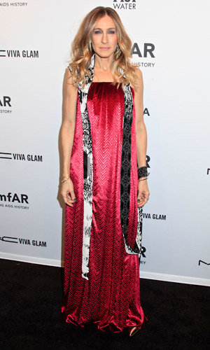 Sarah Jessica Parker, Poppy Delevingne and Alexa Chung glam up for the amfAR Benefit Gala 2013