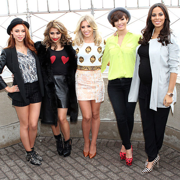 The Saturdays hit the Empire State Building