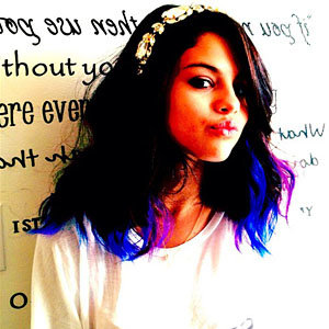 CELEB HAIR NEWS: Selena Gomez tries out the dip-dye trend