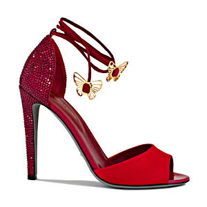 The most glam shoe to hit the Croisette!