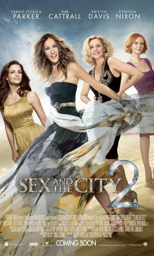 NEW: SEE the latest SATC2 poster!