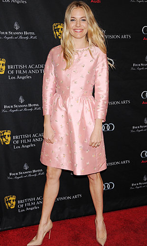 Sienna Miller and Marion Cotillard go ladylike for BAFTA LA Tea Party