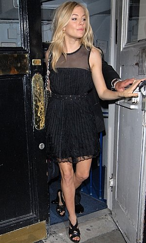 Sienna Miller finishes Flare Path