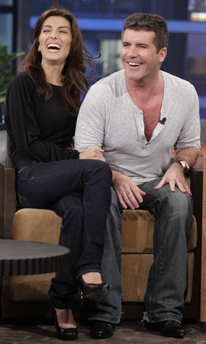 Simon Cowell confirms he's set to marry stylish girlfriend on Jay Leno