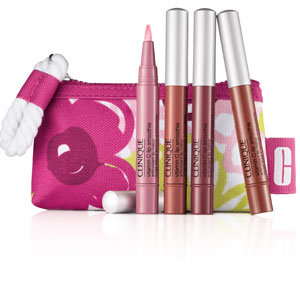 Clinique launches limited edition lip gloss set for the Kiss It Better appeal