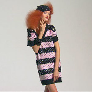 Knit wit! Sonia Rykiel for H&M does knitwear for S/S 2010
