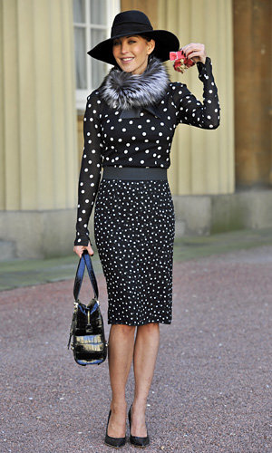 Jimmy Choo's Tamara Mellon awarded an OBE from the Queen!