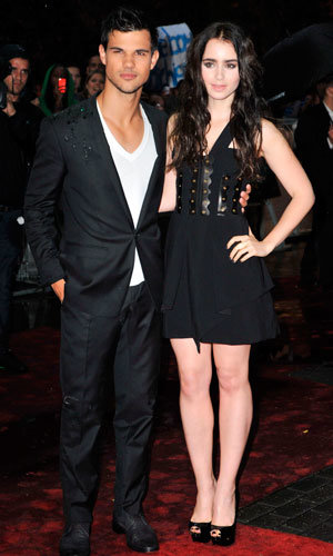 Taylor Lautner and Lily Collins sizzle at Abduction premiere in London