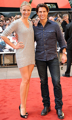 MORE PICS: Cameron Diaz and Tom Cruise at Knight And Day London premiere