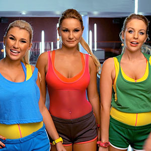 TOWIE stars get fit with The Essexercise Workout!