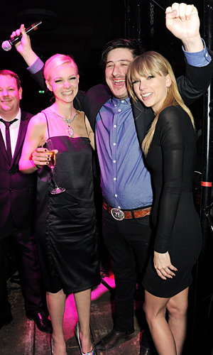 Taylor Swift parties the night away at BRITs after party