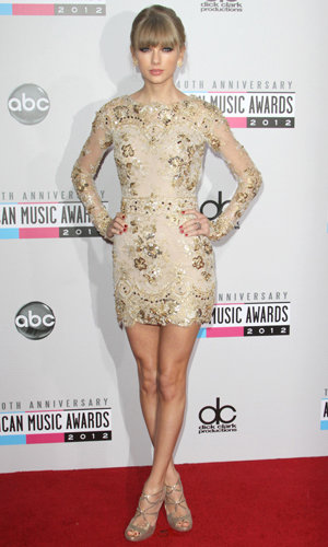 Taylor Swift's American Music Awards fashion parade