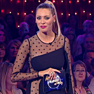 Strictly's Tess Daly is stunning in see-through dress!