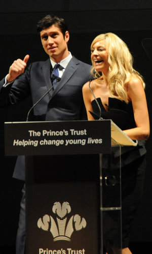 Tess Daly and Vernon Kay go glam at Prince's Trust bash