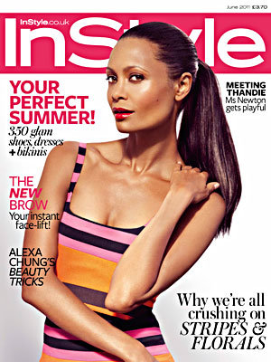 Thandie Newton does ballet chic in InStyle!