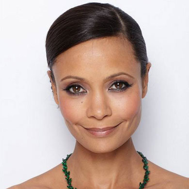 Get Thandie Newton's glowing BAFTAs look