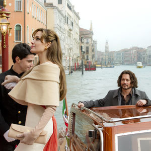 FIRST LOOK: Johnny Depp and Angelina Jolie in new film The Tourist