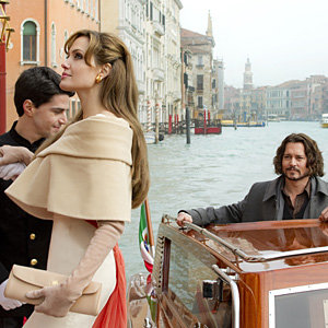 WIN a night in a 4* London hotel plus theatre tickets and a copy of The  Tourist on DVD!