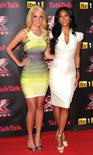 Tulisa Contostavlos and Nicole Scherzinger style up the X Factor launch!