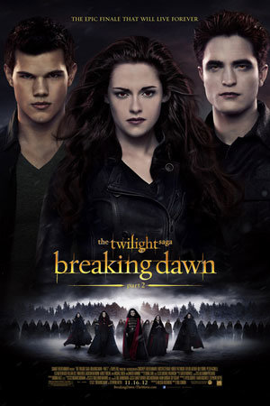 Latest Twilight: Breaking Dawn - Part 2 poster!